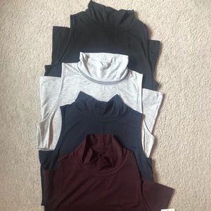 Set of four Athleta Industry Tanks - worn once!